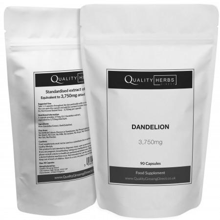 Dandelion Capsules 90 jpeg